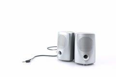 Haut-parleurs de petit ordinateur Images stock