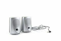 Haut-parleurs de petit ordinateur Image stock