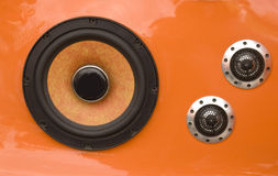 Haut-parleurs de véhicule Photographie stock