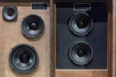 Haut-parleurs de vintage Image stock