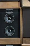 Haut-parleurs de vintage Photo stock