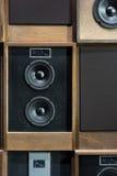 Haut-parleurs de vintage Image libre de droits