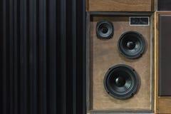 Haut-parleurs de vintage Photographie stock