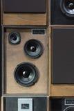 Haut-parleurs de vintage Photos stock