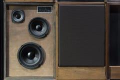 Haut-parleurs de vintage Images stock