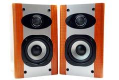 Haut-parleurs sonores Photo libre de droits