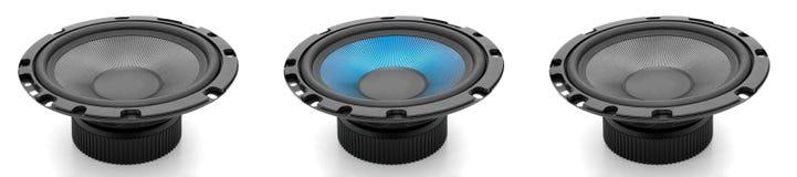 haut-parleurs sonores Photos stock
