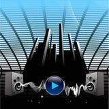 haut-parleurs sonores Image libre de droits