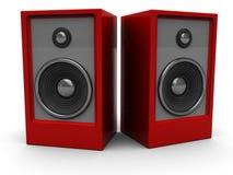 haut-parleurs sonores illustration de vecteur