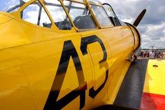 Haut proche d'avion Image libre de droits