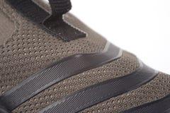 Haut proche de chaussure Image libre de droits