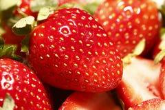 Haut proche de fraise Image libre de droits