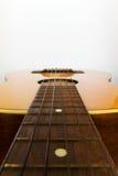Haut proche de guitare Photo libre de droits