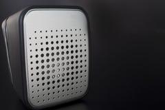 Haut proche de haut-parleur Image stock