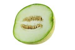 Haut proche de melon Photos stock