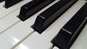 Haut proche de piano Photos libres de droits