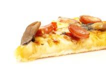 Haut proche de pizza Photo stock