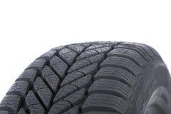 Haut proche de pneu Photo stock