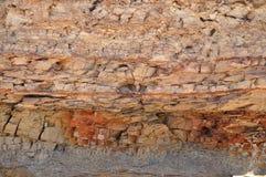 Haut proche de roche Photo stock