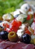 Haut proche de salade Photo stock