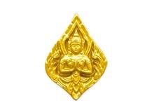 Haut-reliëfbeeldhouwwerk Thai Royalty-vrije Stock Fotografie