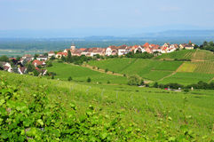 Haut Rhin, the picturesque city of Zellenberg in Alsace Royalty Free Stock Photography