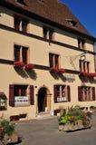 Haut Rhin, the picturesque village of Eguisheim Stock Images