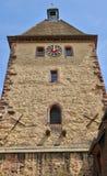 Haut Rhin, village of Bergheim  in Alsace Stock Photo