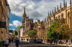 Haut St, Oxford photos stock
