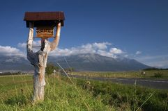 Haut Tatras Image stock