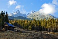 Haut Tatras Photo libre de droits