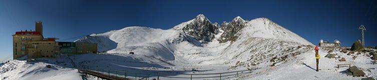 Haut Tatras - lac Skalnate Photo libre de droits