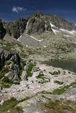 Haut Tatras VIII Photo libre de droits