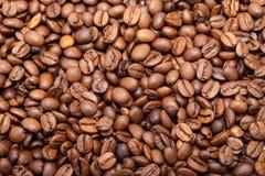 Haut étroit de grains de café Photos stock