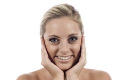 Haut und Schönheits-Sorgfalt lizenzfreies stockfoto