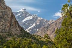 Haute altitude alpine de paysage Photo stock