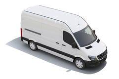 Haute cargaison Van de toit illustration stock