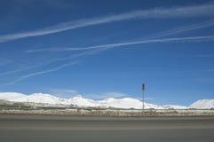 Haute chaussée de pays du Colorado. Photographie stock libre de droits