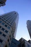 Haute construction d'étage Images libres de droits