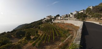 Haute-Corse, ακρωτήριο Κορσική, Κορσική, ανώτερη Κορσική, Γαλλία, Ευρώπη, νησί Στοκ φωτογραφίες με δικαίωμα ελεύθερης χρήσης