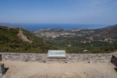 Haute-Corse, Κορσική, ανώτερη Κορσική, Γαλλία, Ευρώπη, νησί Στοκ εικόνα με δικαίωμα ελεύθερης χρήσης