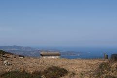 Haute-Corse, Κορσική, ανώτερη Κορσική, Γαλλία, Ευρώπη, νησί Στοκ Φωτογραφία
