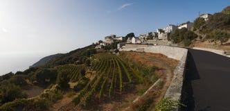 Haute Corse, udde Corse, Korsika, övreKorsika, Frankrike, Europa, ö Royaltyfria Foton