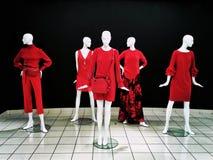 Haute Couture-Mannequins stockbilder