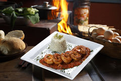 Haute cuisine, fotografia stock libera da diritti