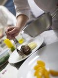 Haute cuisine Stock Image