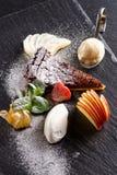 Haute cuisine dessert Stock Image