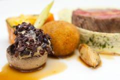 Haute cuisine dish Stock Image