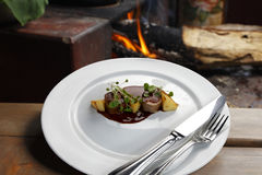 Haute cuisine stock photography