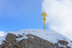 Haute dans les Alpes image libre de droits